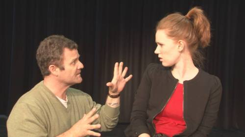 Jerome Pride as John and Grace O'Connell as Carol